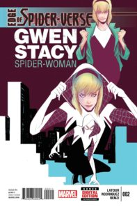 first-197x300 The many prints of Spider-Gwen!