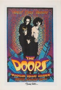 randy-tuten-the-doors-madison-square-gardens-commemorative-poster-artwork-205x300 Key Poster Artists of the Psychedelic Era