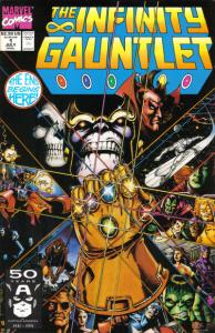 Infinity-Gauntlet-1-194x300 Coldest Comics: Falling Stars and Tumbling SpiderMen