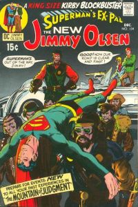 Jimmy-Olsen-134-200x300 Trends and Oddballs: Darkseid and Obnoxio the Clown