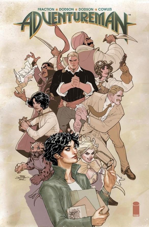adventureman_hc1_web Image Comics October 2020 Solicitations