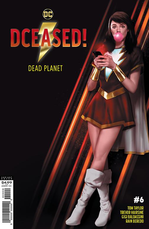 DCeased2_Cv6_var_homage DC Comics December 2020 Solicitations