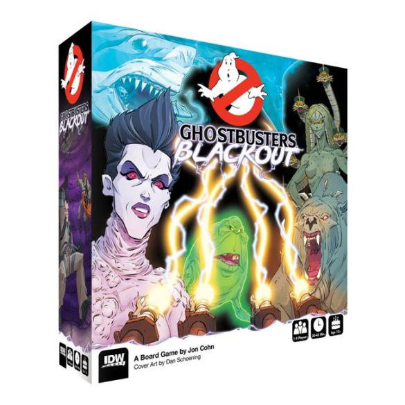 Ghostbusters_Blackout_Box_Mock IDW Publishing December 2020 Solicitations