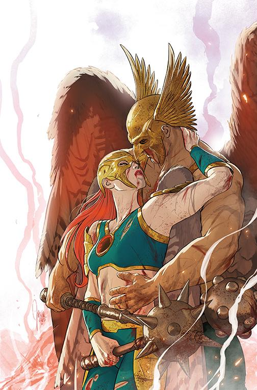 HWKMN_VOL4 DC Comics December 2020 Solicitations