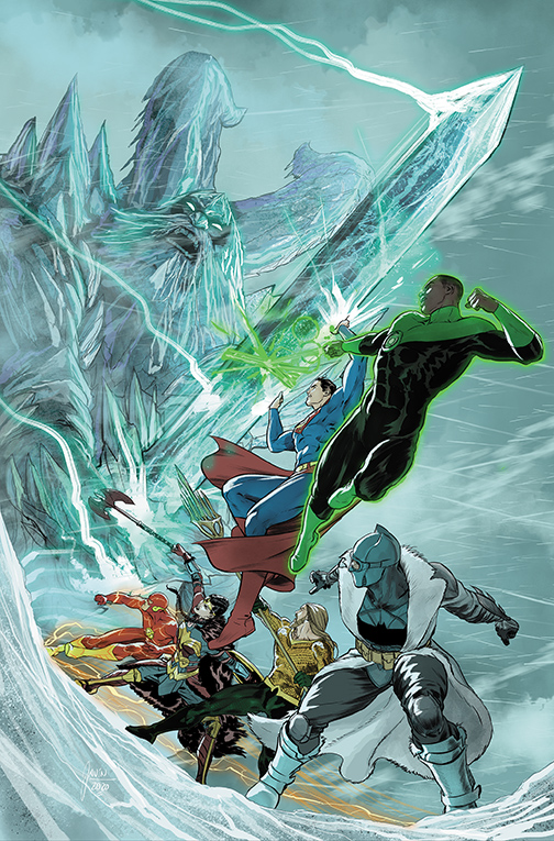 JL_ENDLESSWINTER_2_Cover DC Comics December 2020 Solicitations