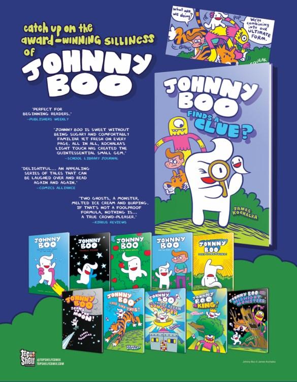 JohnnyBoo_Backlist_Previews-1 IDW Publishing November 2020 Solicitations