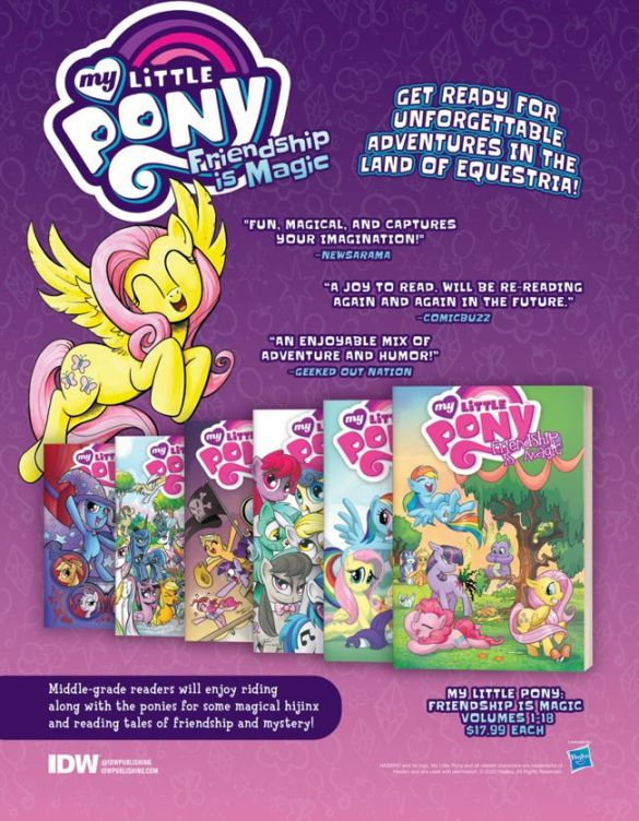 MLP_Previews_Backlist2 IDW Publishing December 2020 Solicitations