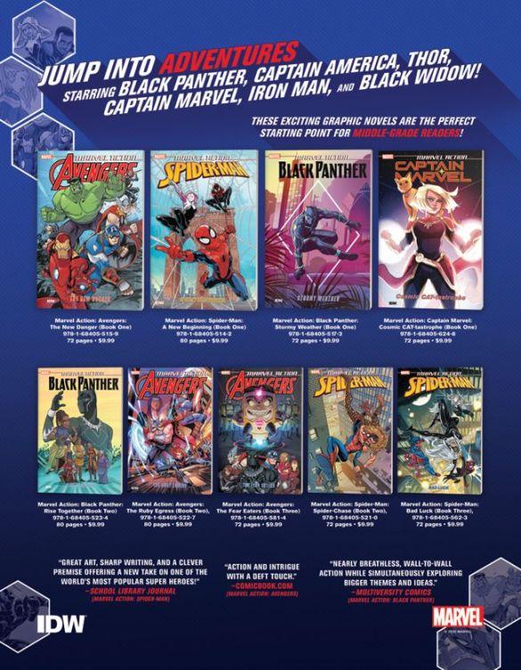 Marvel_Previews_Backlist IDW Publishing December 2020 Solicitations