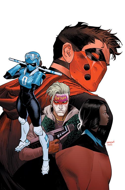 RedHood52_Cover DC Comics December 2020 Solicitations