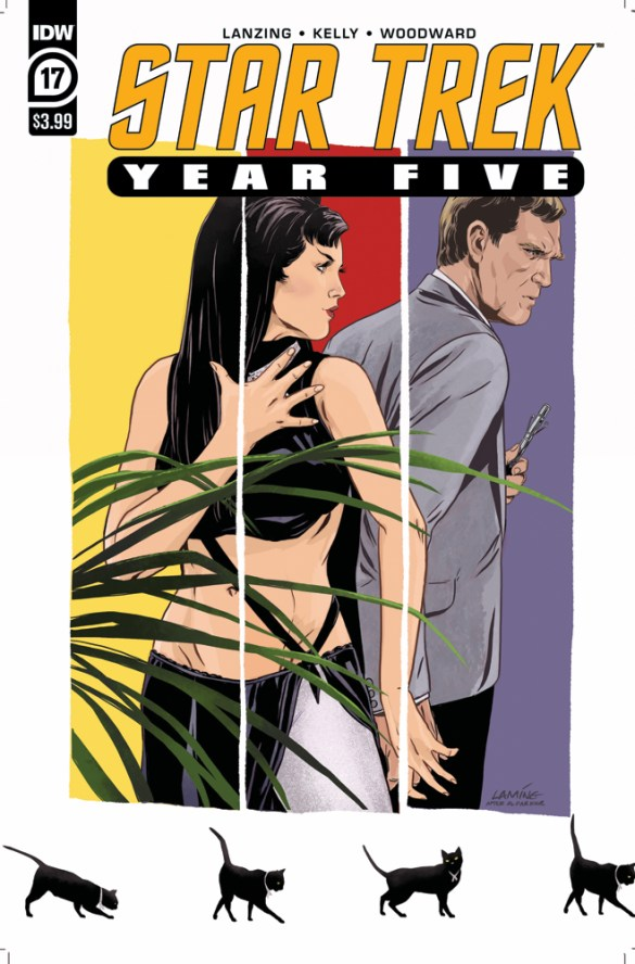 ST_YearFive17-cover IDW Publishing November 2020 Solicitations