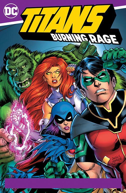 TITANS-BURNING-RAGE DC Comics December 2020 Solicitations