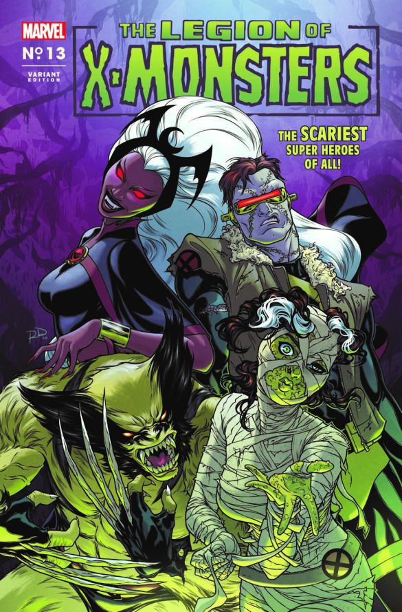 X-MEN-13-LEGION-OF-X-MONSTERS-HORROR-VARIANT Marvel Comics will issue timely Horror Variant covers this October