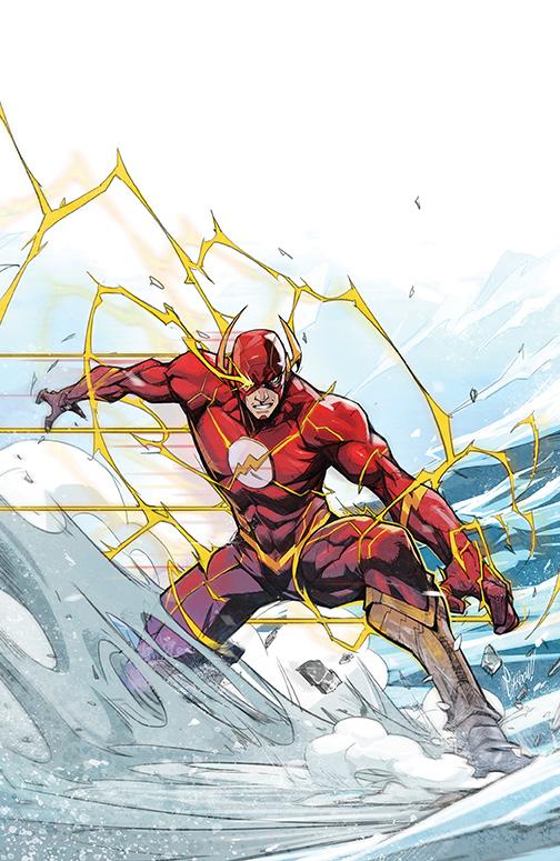 flash-767-variant-habchi DC Comics December 2020 Solicitations