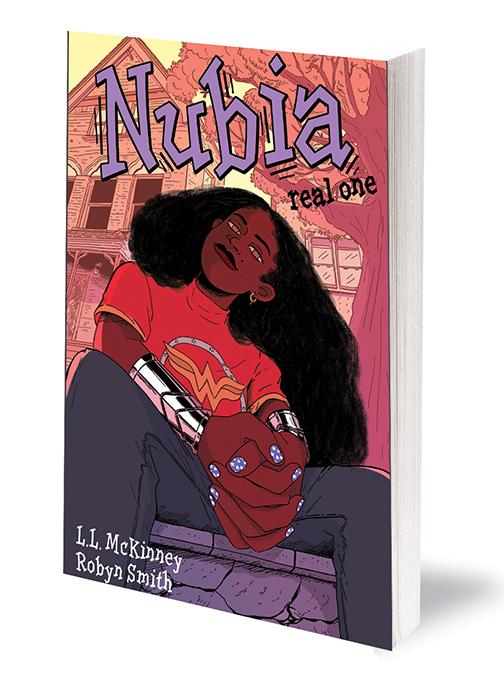nubia DC Comics December 2020 Solicitations