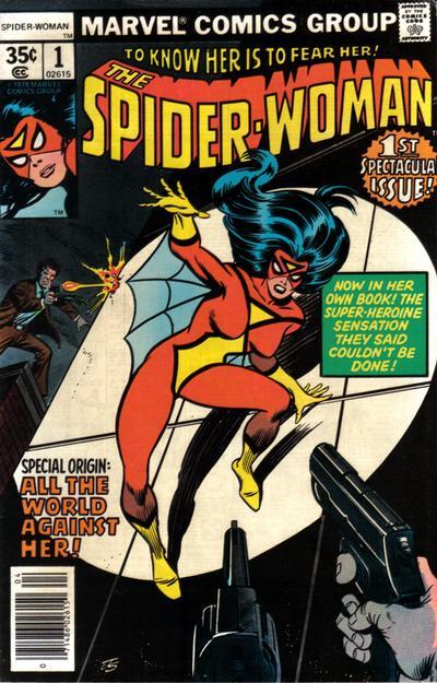 spider-woman DC Comics December 2020 Solicitations