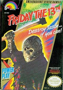 51QZ753W2RL._SY445_-212x300 Friday the 13th by LJN -- Another campy horror game