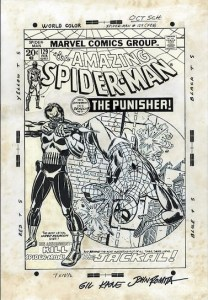 ASM129OriginalArtFromTMZ-208x300 Amazing Spider-Man 129 Cover Art: $2,000,000 in Hype?