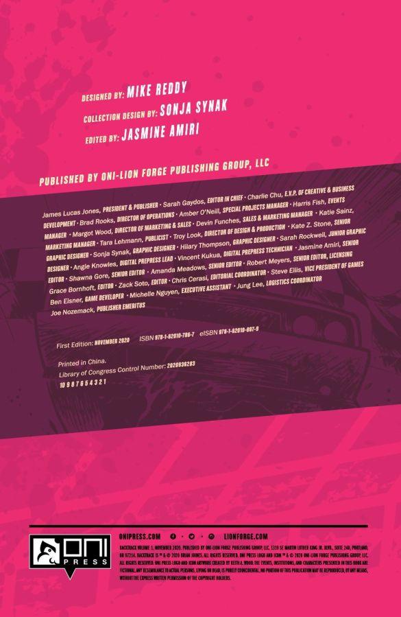BACKTRACKV1-REFERENCE-005 ComicList Previews: BACKTRACK VOLUME 1 TP