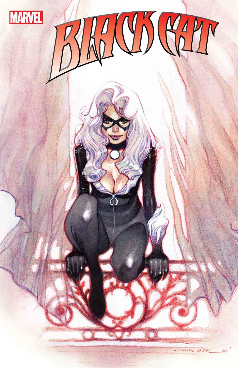 BLACKCAT2020002_Coipel_var-1 Marvel Comics January 2021 Solicitations