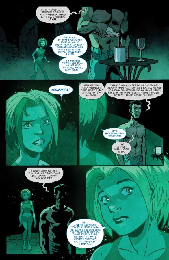 Buffy_019_PRESS_6 ComicList Previews: BUFFY THE VAMPIRE SLAYER #19