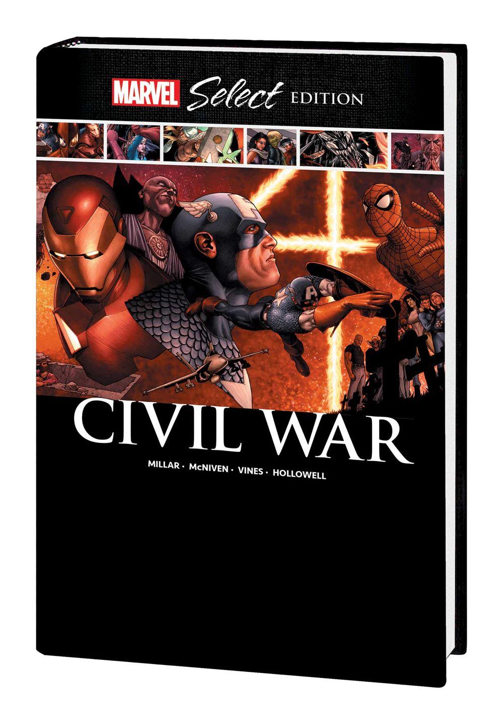 CIVWAR_MS_HC-1 Marvel Comics January 2021 Solicitations