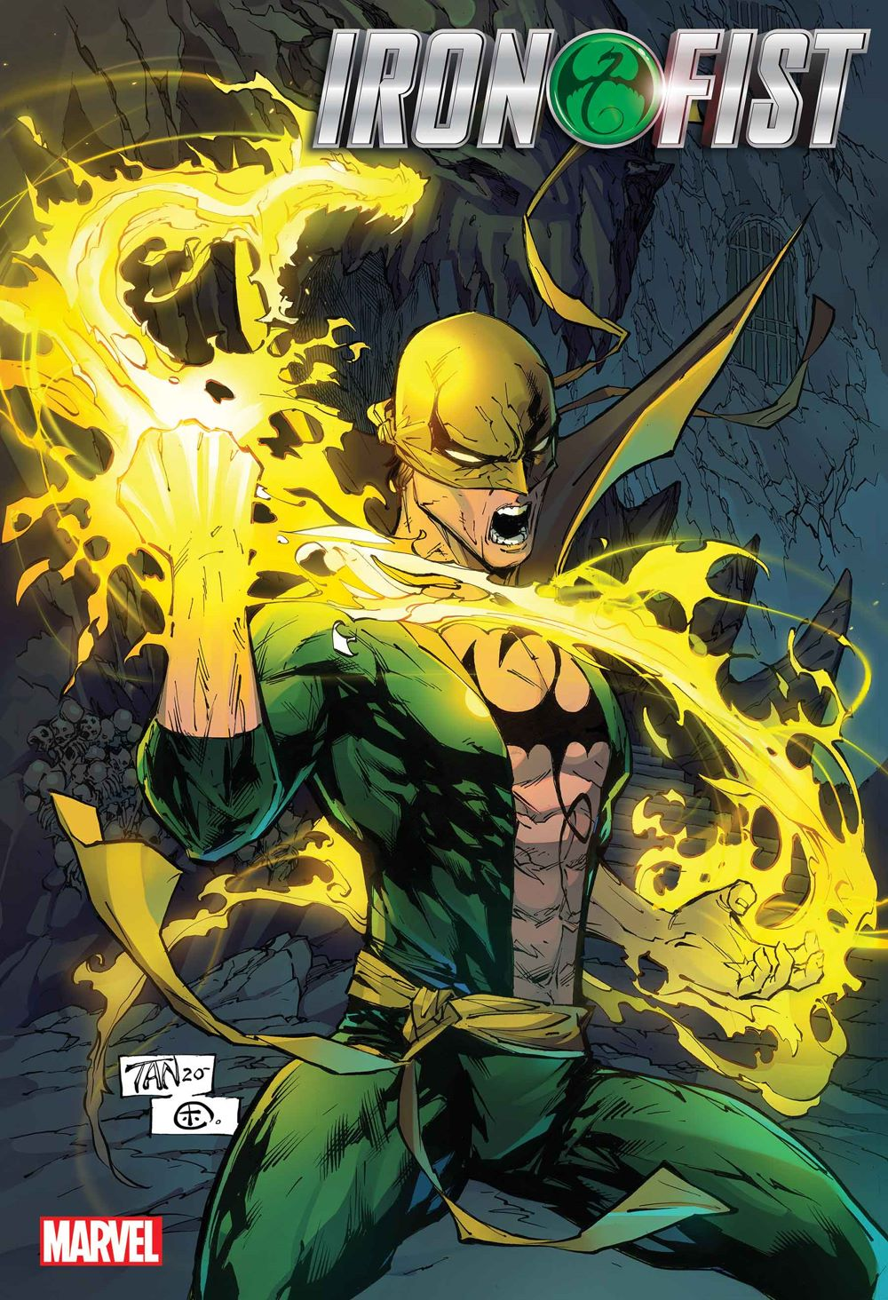IRONFIST8KING2020001_Cov Marvel Comics January 2021 Solicitations