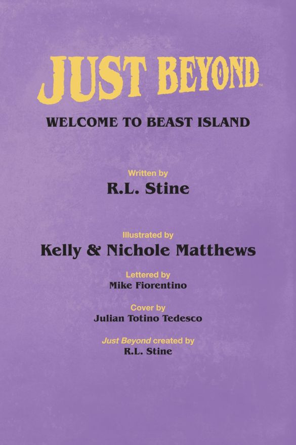 JustBeyond_WelcomeBeastIsland_SC_PRESS_5-1 ComicList Previews: JUST BEYOND WELCOME TO BEAST ISLAND GN