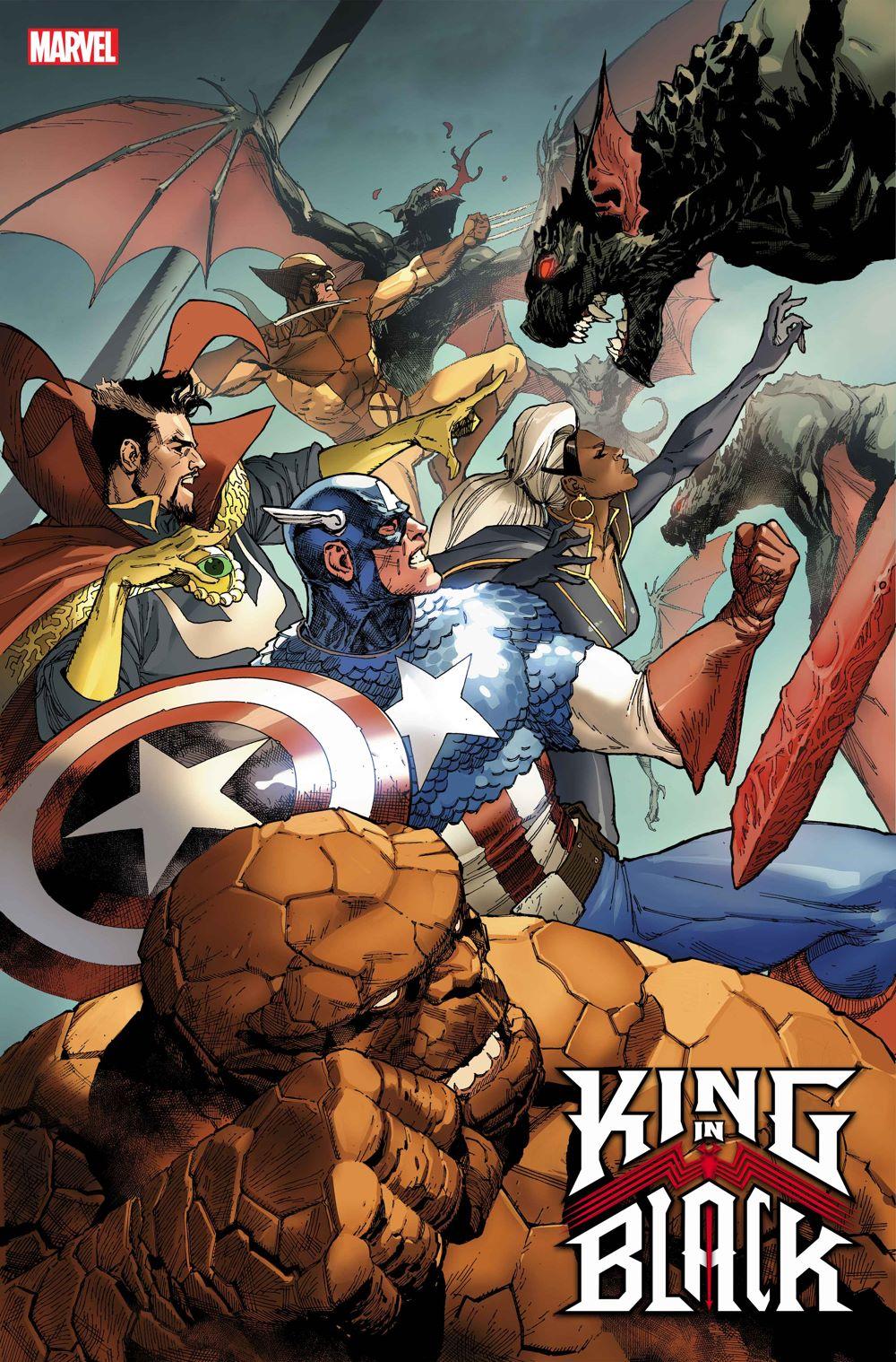 KINGINBLACK2020001_YU_DC71 Marvel reveals variant covers for KING IN BLACK #1