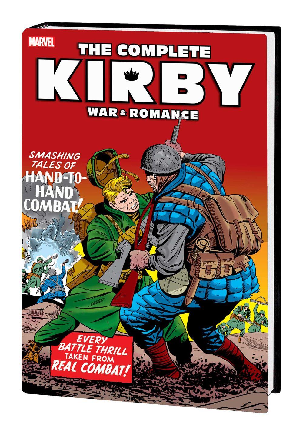 KIRBYLOVEWAR_OMNIBUS_HC_A Marvel Comics January 2021 Solicitations