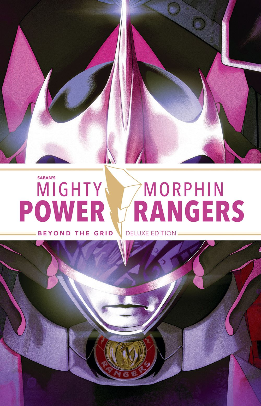 MMPR_BeyondGrid_Deluxe_HC_Cover_LOW ComicList Previews: MIGHTY MORPHIN POWER RANGERS BEYOND THE GRID DELUXE EDITION HC