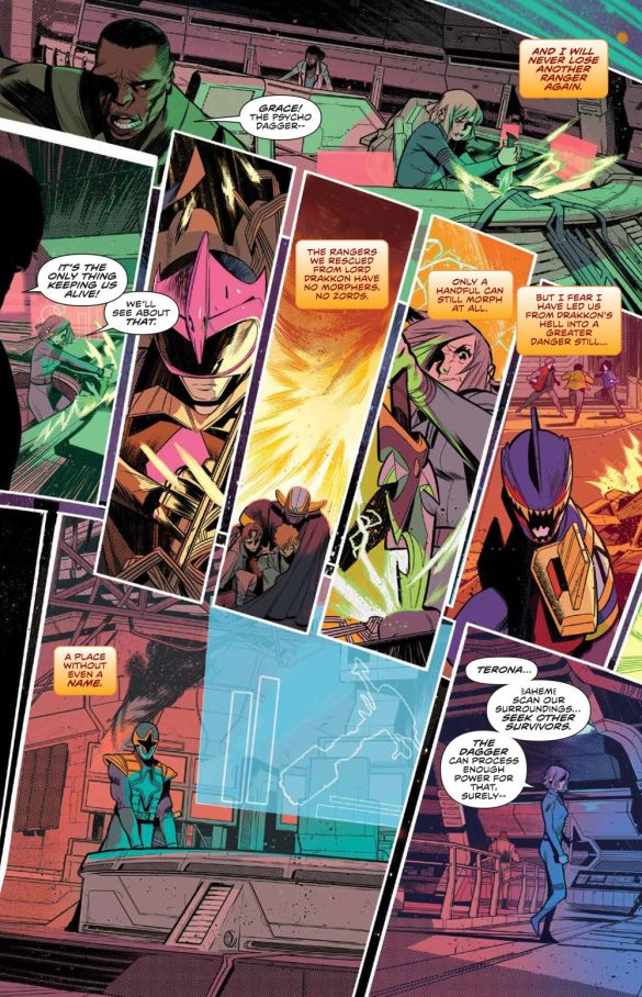 MMPR_BeyondGrid_Deluxe_HC_PRESS_12 ComicList Previews: MIGHTY MORPHIN POWER RANGERS BEYOND THE GRID DELUXE EDITION HC