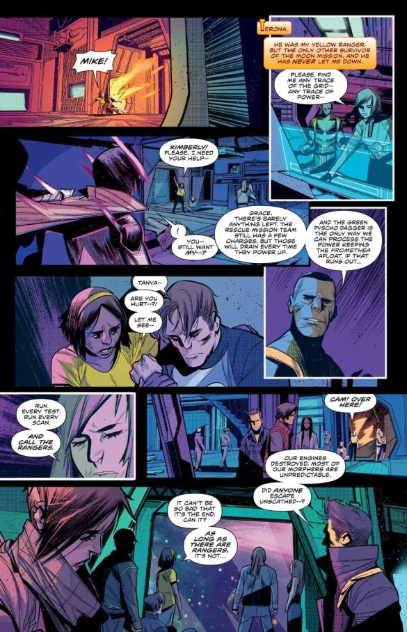 MMPR_BeyondGrid_Deluxe_HC_PRESS_18 ComicList Previews: MIGHTY MORPHIN POWER RANGERS BEYOND THE GRID DELUXE EDITION HC