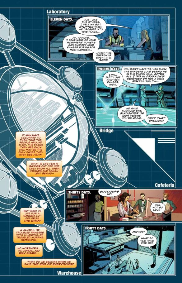 MMPR_BeyondGrid_Deluxe_HC_PRESS_21 ComicList Previews: MIGHTY MORPHIN POWER RANGERS BEYOND THE GRID DELUXE EDITION HC