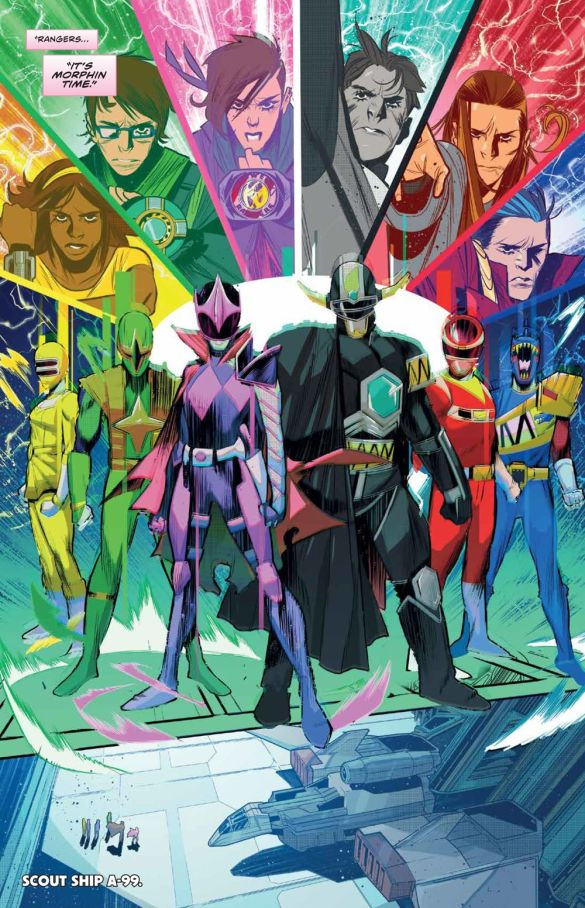 MMPR_BeyondGrid_Deluxe_HC_PRESS_23 ComicList Previews: MIGHTY MORPHIN POWER RANGERS BEYOND THE GRID DELUXE EDITION HC
