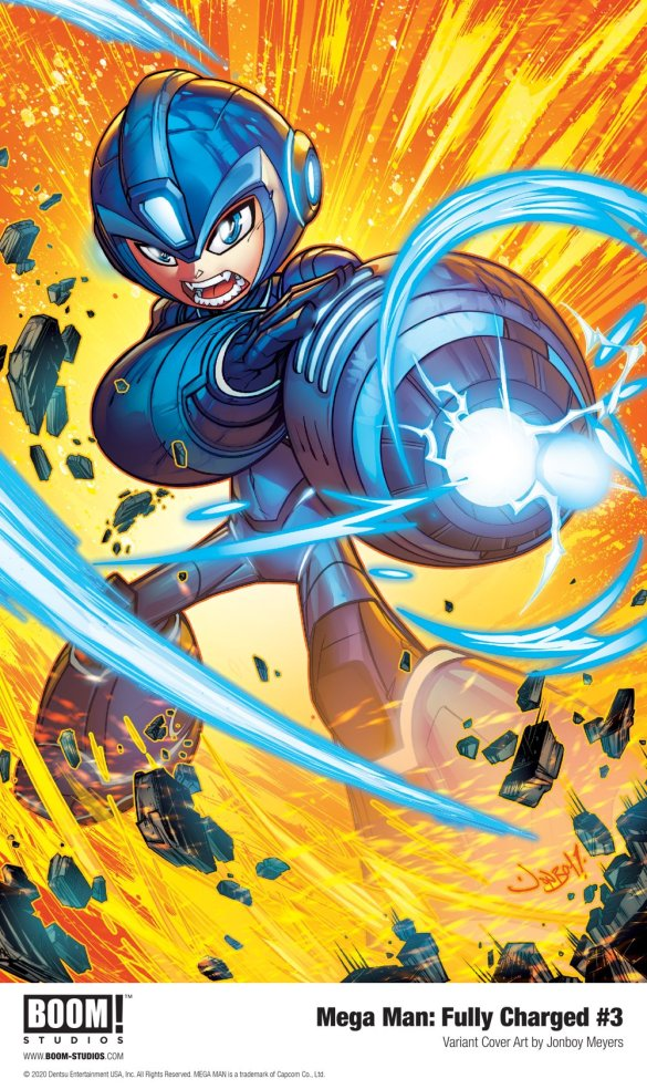 MegaMan_FullyCharged_003_Cover_Variant_PROMO First Look at BOOM! Studios' MEGA MAN: FULLY CHARGED #3