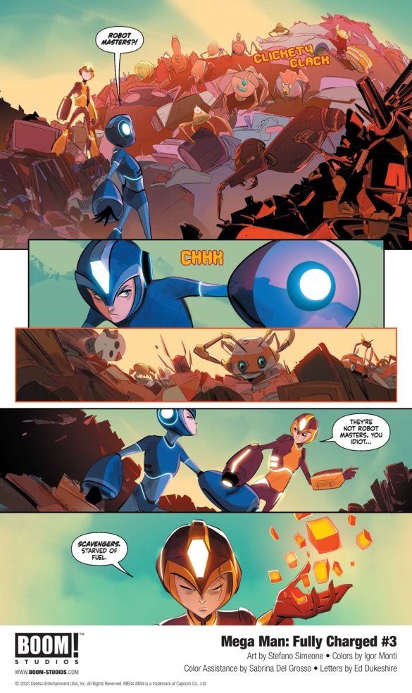 MegaMan_FullyCharged_003_InteriorArt_005_PROMO First Look at BOOM! Studios' MEGA MAN: FULLY CHARGED #3