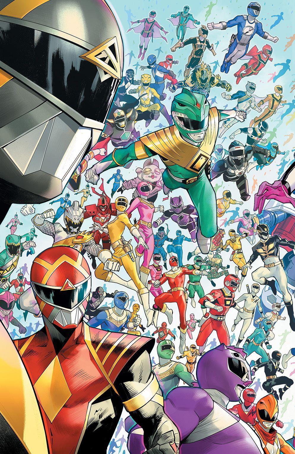 MightyMorphin_001_Cover_E_EveryRangerEver ComicList: BOOM! Studios New Releases for 11/04/2020