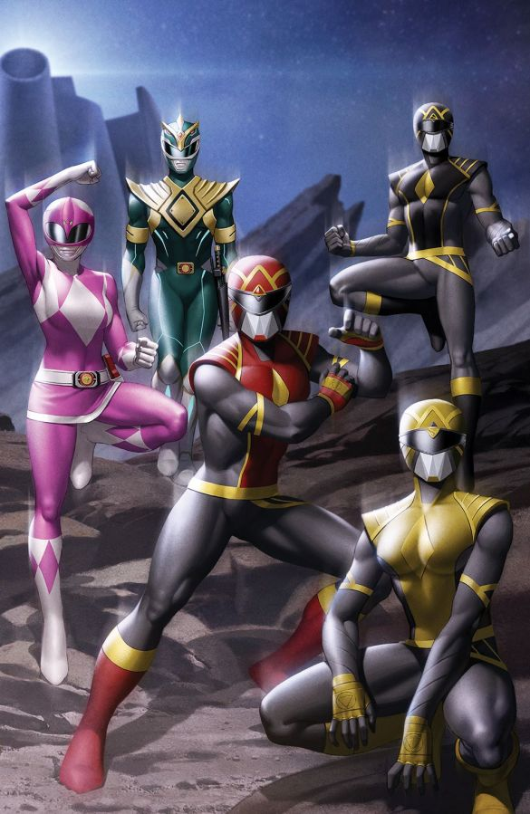 MightyMorphin_001_Cover_J_Wraparound_001 ComicList Previews: MIGHTY MORPHIN #1