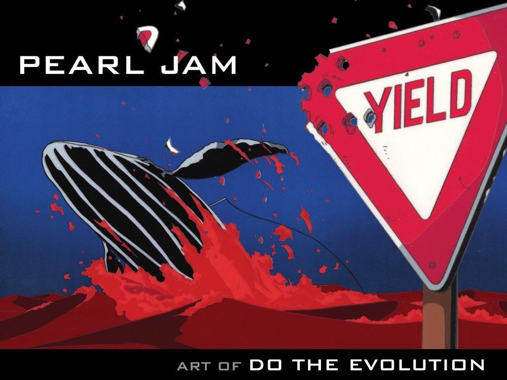 Pearl_Jam-pr-1 ComicList Previews: PEARL JAM ART OF DO THE EVOLUTION HC
