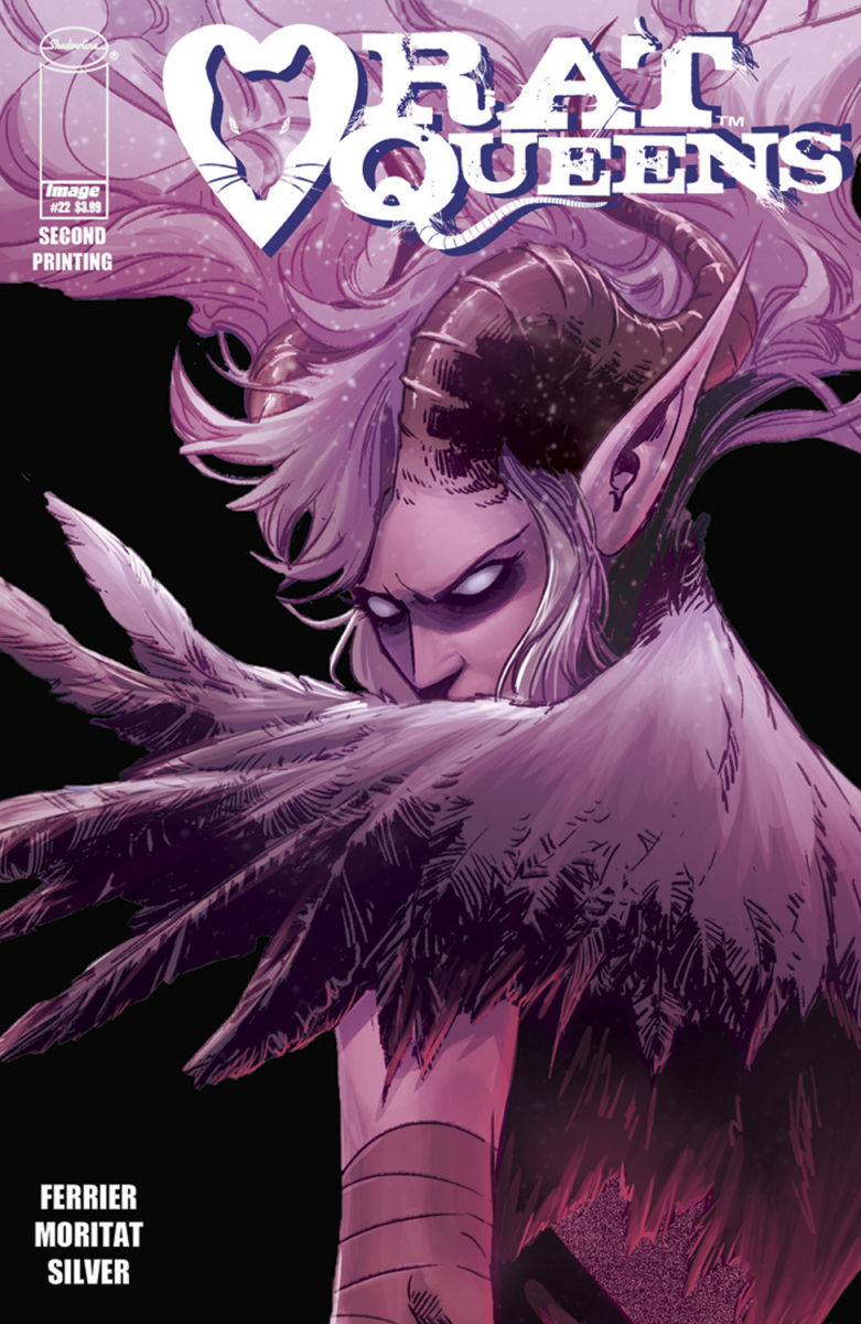 RatQueens22-2ndPtg-Cover_c6815a0147f8285e3b5042ebb3626151 RAT QUEENS #22 is rushed back to print