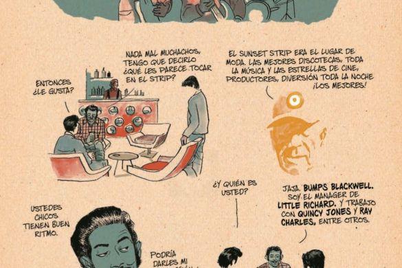 Redbone_Spanish_pr-4 ComicList Previews: REDBONE LA VERDADERA HISTORIA DE UNA BANDA DE ROCK NATIVA AMERICANA HC