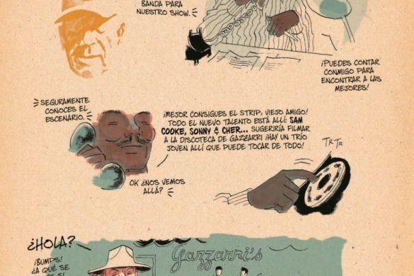 Redbone_Spanish_pr-6 ComicList Previews: REDBONE LA VERDADERA HISTORIA DE UNA BANDA DE ROCK NATIVA AMERICANA HC