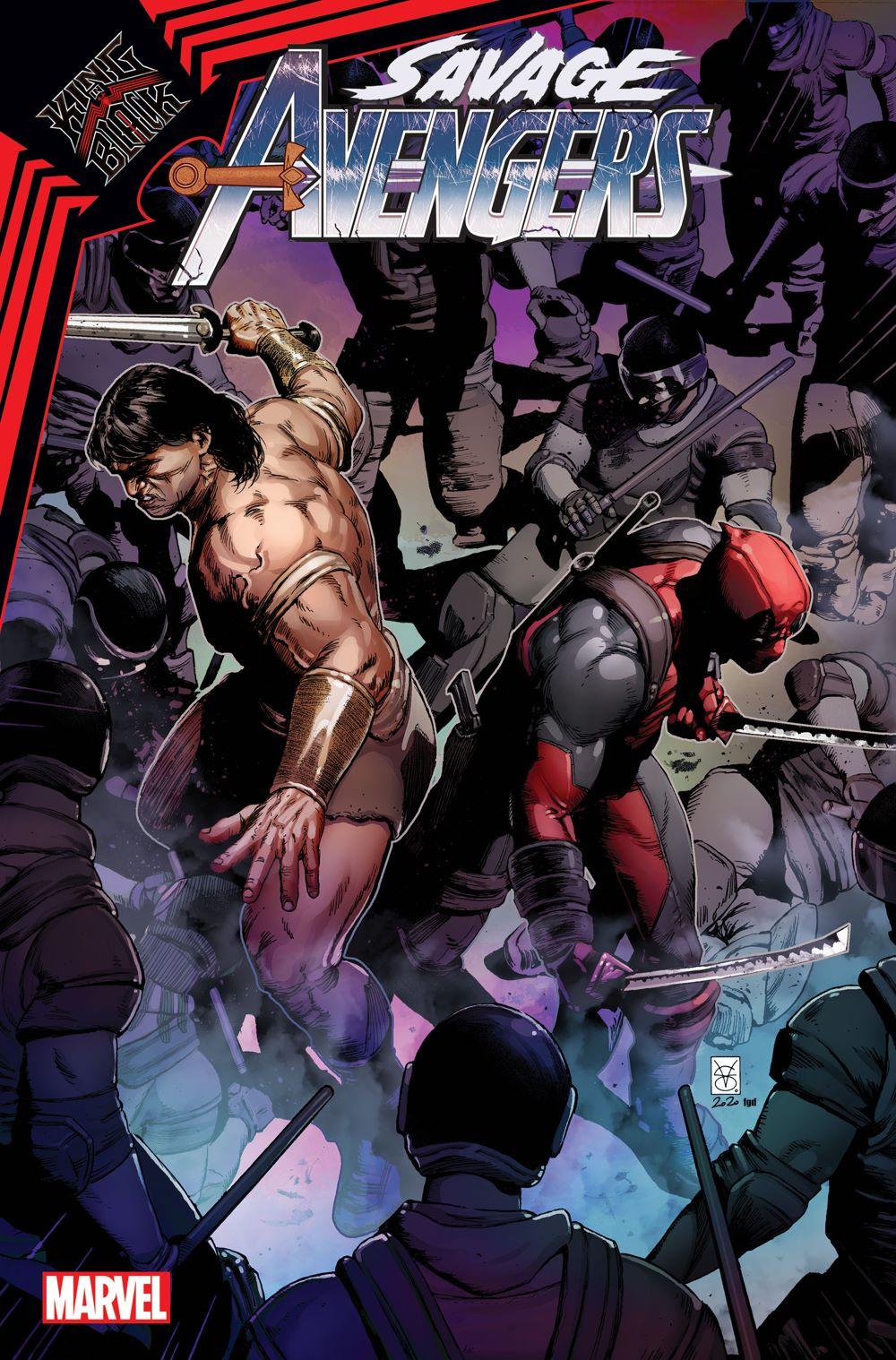 SAVAVEN2019017_Cov-1 Marvel Comics January 2021 Solicitations