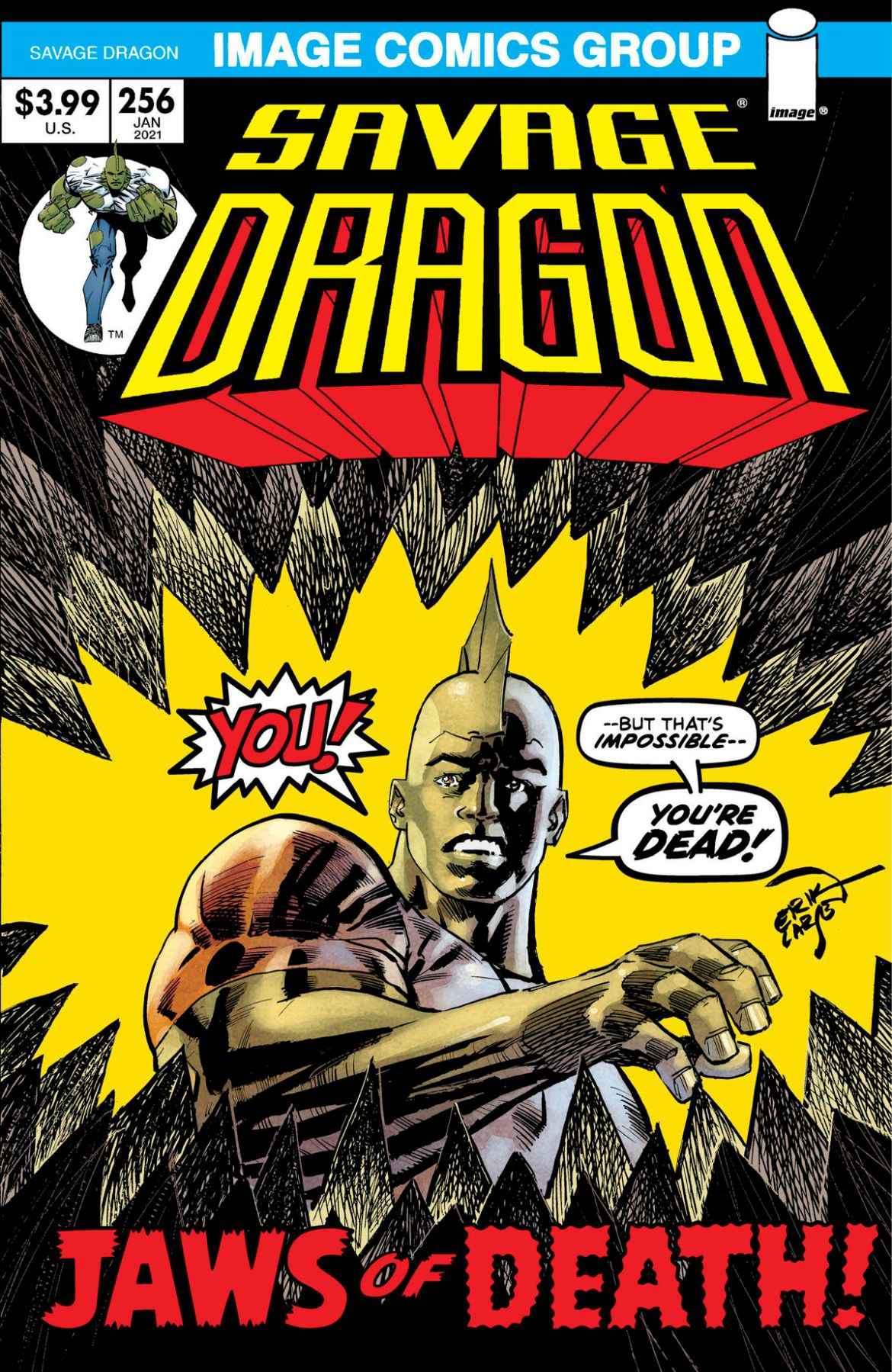 SD_256_70s_c6815a0147f8285e3b5042ebb3626151-1 SAVAGE DRAGON #254-256 to feature retro style variant covers