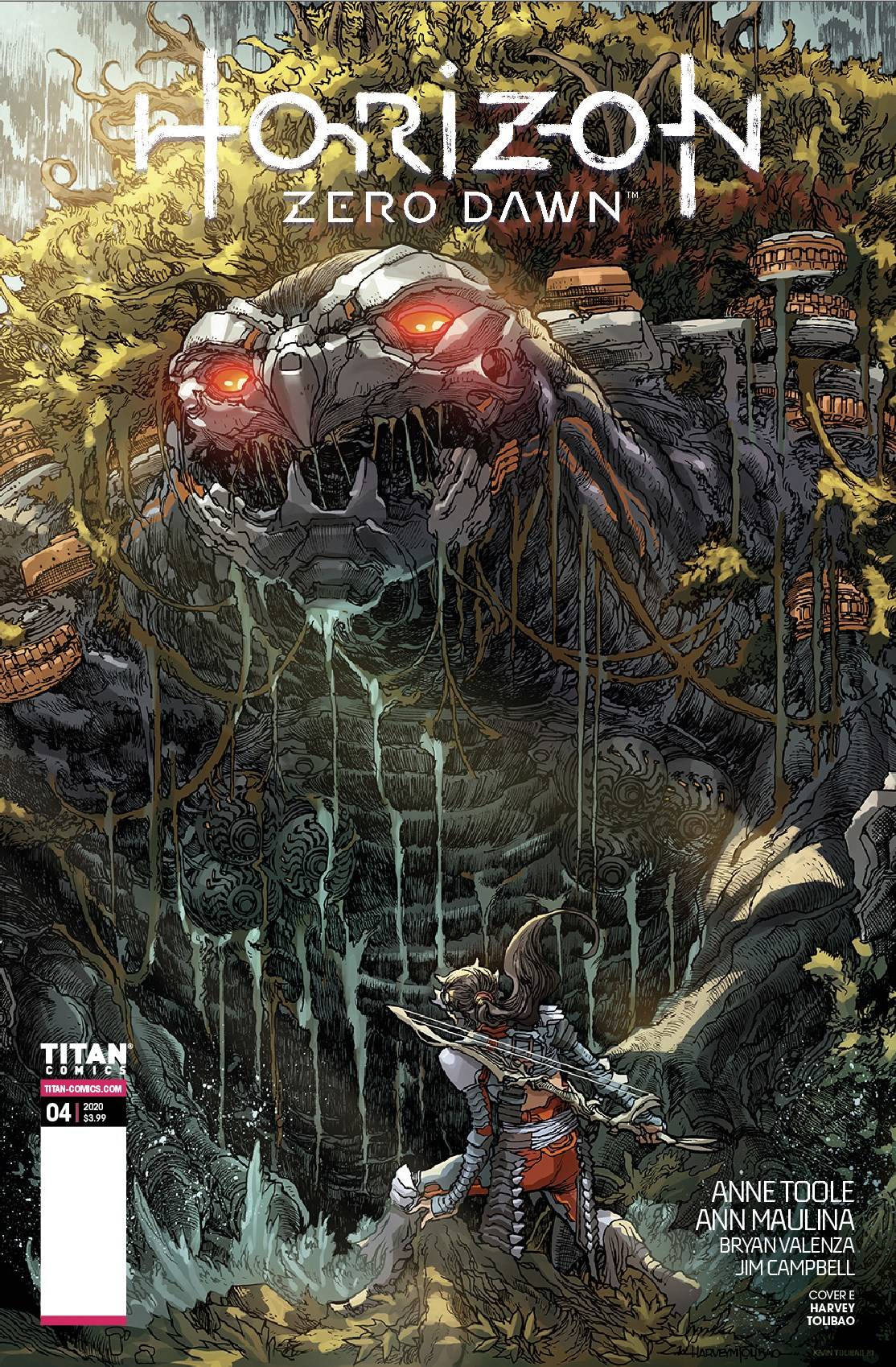 STL174135 Titan Comics Extended Forecast for 10/21/2020