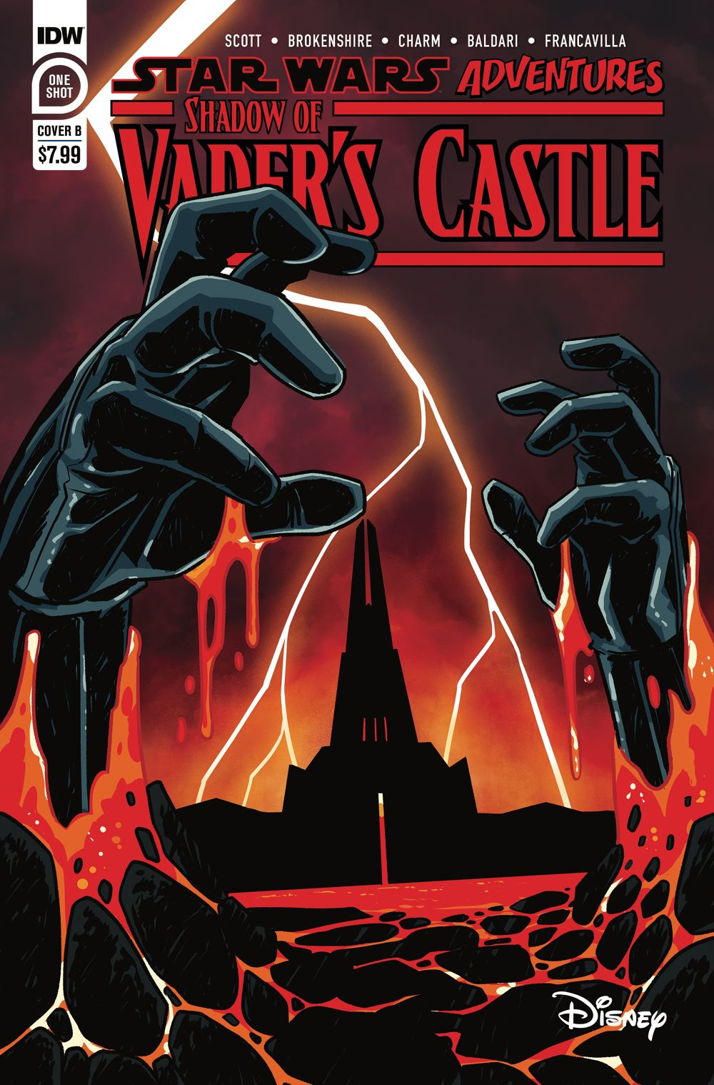 SWShadowofVader-Cover-B ComicList Previews: STAR WARS ADVENTURES SHADOW OF VADER'S CASTLE #1