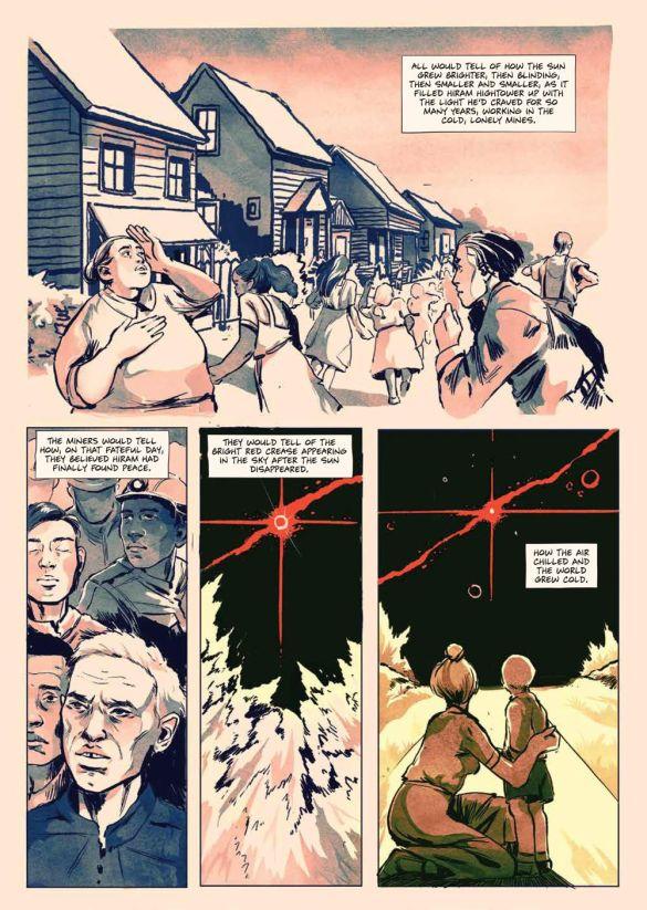 SacrificeDarkness_HC_PRESS_14 ComicList Previews: THE SACRIFICE OF DARKNESS HC