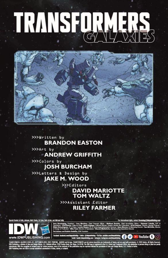 TF_Galaxies_11_pr-2 ComicList Previews: TRANSFORMERS GALAXIES #11