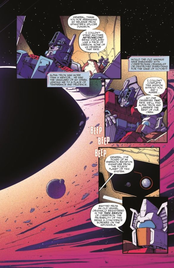 TF_Galaxies_11_pr-5 ComicList Previews: TRANSFORMERS GALAXIES #11