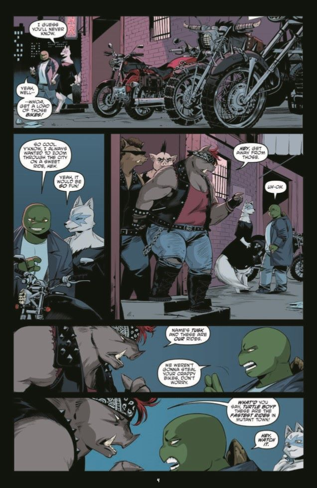 TMNT110_pr-6 ComicList Previews: TEENAGE MUTANT NINJA TURTLES #110
